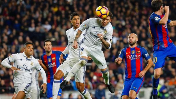 Ramos rettet Real