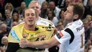 Rhein-Neckar Löwen gewinnen Hinspiel in Kiel