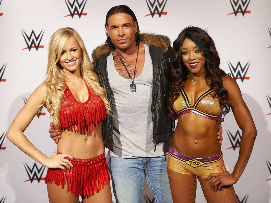 Wieses neue Welt: 2014 wurde er von den Wrestling-Veranstaltern schon einmal eingeladen.