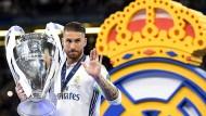 Abschied einer Klub-Ikone: Sergio Ramos verlässt Real Madrid.