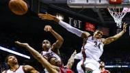 Crunchtime: die Bulls gewinnen nach zweimaliger Verlängerung gegen die Bucks