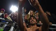 """Selfie nach dem Sieg: Martins Moreno widmet den Erfolg allen Menschen in Bolivien als """"Belohnung für ihre Unterstützung"""""""