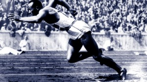Hommage an Jesse Owens