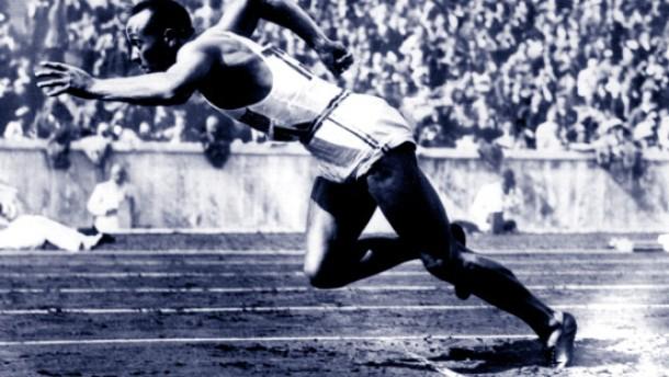 Hommage an Jesse Owens