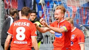 Heidenheim steigt in die zweite Bundesliga auf