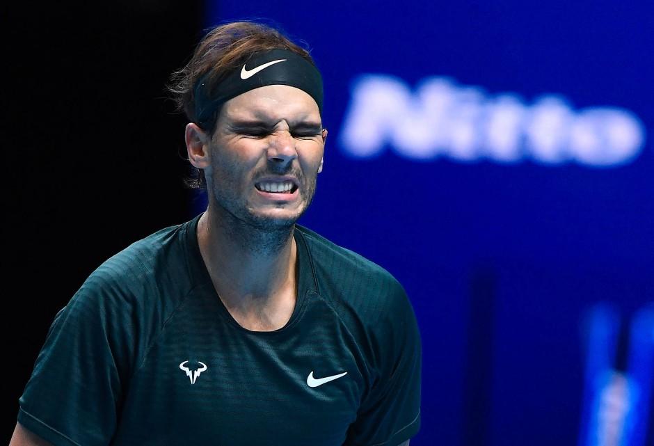 Trotz aller Schwierigkeiten: Der Spanier Rafael Nadal blickt schon wieder voraus.