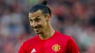 Zlatan Ibrahimovic spielt inzwischen bei Manchester United.