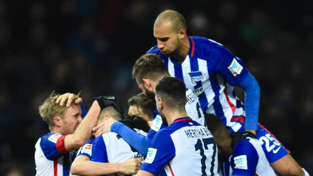 Hertha nähert sich der Champions League