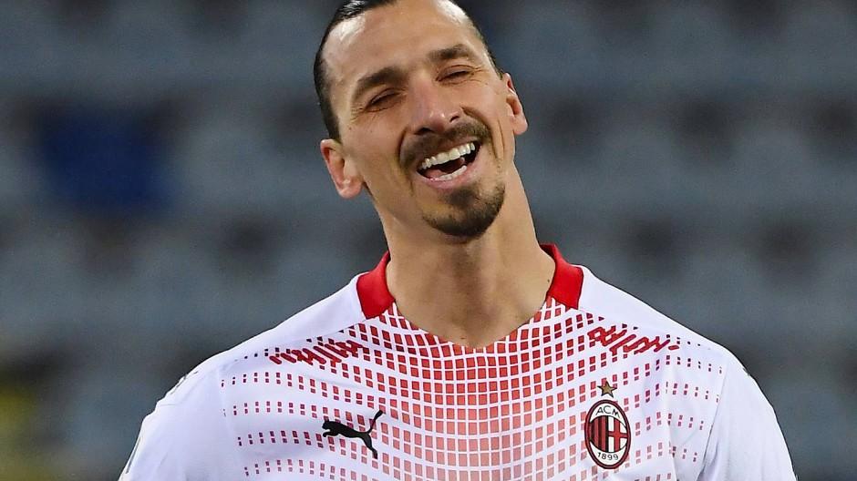 Geht doch: Zlatan Ibrahimovic ist wieder fit und trifft doppelt für den AC Mailand.