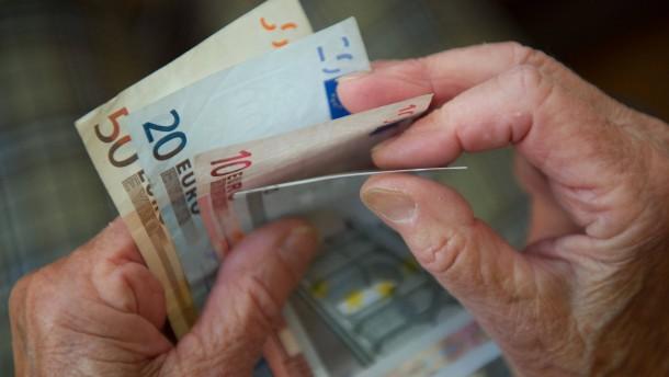 Rente steigt 2013 wohl nur leicht