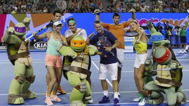 Der Happy Slam macht alle Spieler froh