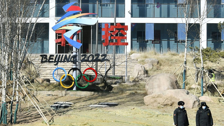 Vom Ticketverkauf für die olympischen Winterspiele ist derzeit keine Rede.