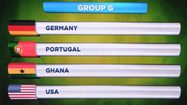 Deutschland gegen Portugal, Ghana und Vereinigte Staaten