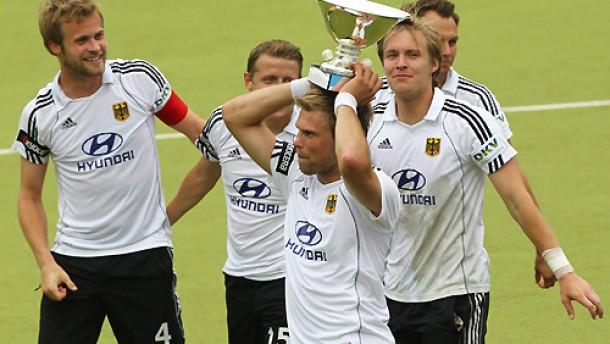 Deutsche Herren gewinnen die Hockey-EM