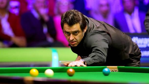 """""""Snooker ist eine sehr einsame Art von Sport"""""""