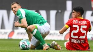 Nur ein Pünktchen Hoffnung für Bremen