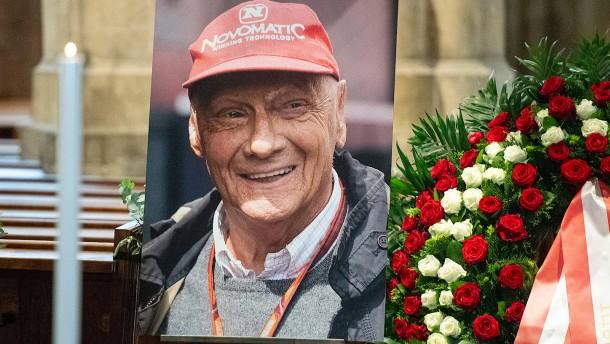 Die Welt nimmt Abschied von Niki Lauda