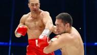Muskelspiele des Klitschko-Clans