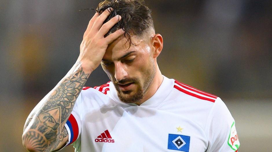 Wie geht es weiter? Nicht nur Tim Leibold und der Hamburger SV stehen vor einer ungewissen Zukunft.