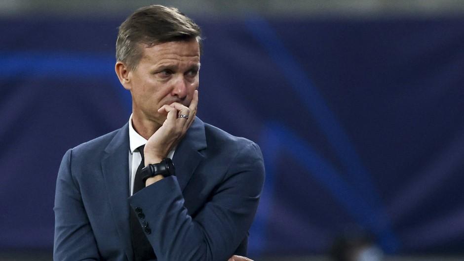 Enttäuscht von dem Leipziger Allerlei: RB-Trainer Jesse Marsch