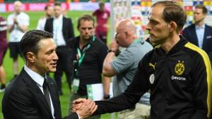Das Duell Kovac gegen Tuchel