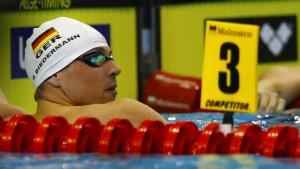 Vorlauf-Aus für Weltrekordler Biedermann