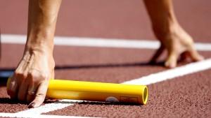 Riss im olympischen Sport