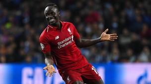 Das Tor zum Champions-League-Halbfinale: Sadio Mané bringt Liverpool in Porto in Führung.