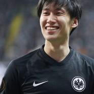 Daichi Kamada erlebte in der Europa League gegen Salzburg am Donnerstag eine Sternstunde.