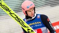 Bedient: Karl Geiger in Innsbruck
