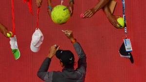 Federer und Nadal im Gleichschritt