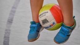 Kinder dürfen Sport treiben