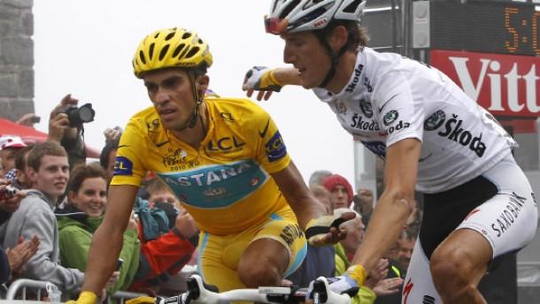 Alberto Contador ist fast am Ziel