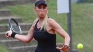 Favoritin Sarah Gronert scheitert bei den Hessenmeisterschaften.
