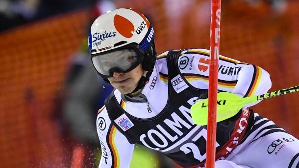 Straßer landet im Slalom auf dem Podest