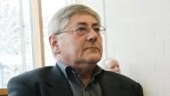 Schweigsam vor Gericht: Werner Goldmann hält seine Klage gegen den DLV aufrecht