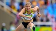 Carolin Schäfer mit starkem Start