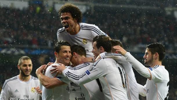 Dortmund geht im Regen von Madrid unter