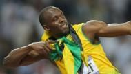 Auch Usain Bolts Rekord wären durch die Reform von gestern.