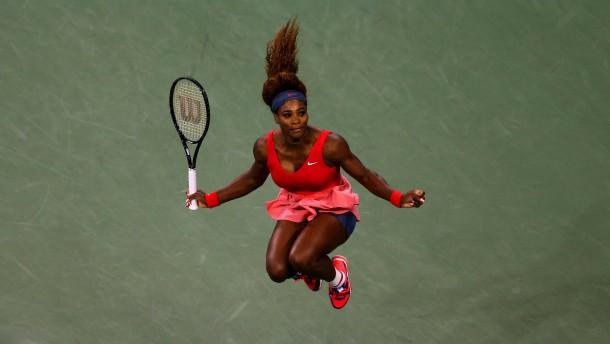Serena Williams wie Steffi Graf