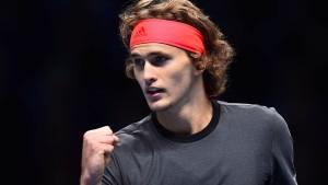 Jetzt wartet Federer auf Zverev