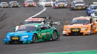 DTM am Nürburgring: Edoardo Mortara vorneweg