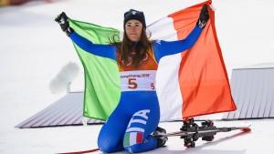 Knöchelbruch bei Olympiasiegerin