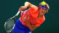 Staffelübergabe in Wimbledon