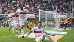 Ginczek rettet Stuttgart vor Abstieg