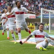 Auf dem Boden, aber nicht am Boden: Ginczek trifft entscheidend für den VfB