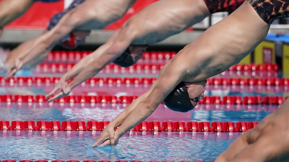 Es geht abwärts: Der Deutsche Schwimmverband hat sich in eine schwierige Lage manövriert.