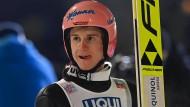 """Will wieder """"Körner aufsammeln"""": Skispringer Karl Geiger"""