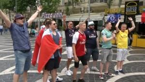Wenig Fans aus London zum Finale in Aserbaidschan