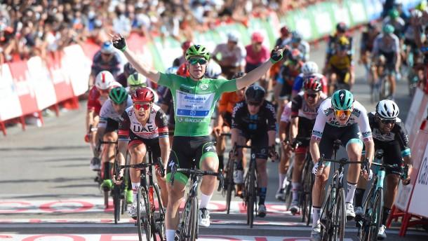 Dritter Vuelta-Etappensieg für Jakobsen